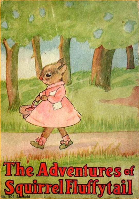 The Adventures of Squirrel Fluffytail A Picture Story-Book for Children