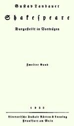 Shakespeare (Volume 2 of 2) Dargestellt im Vorträgen