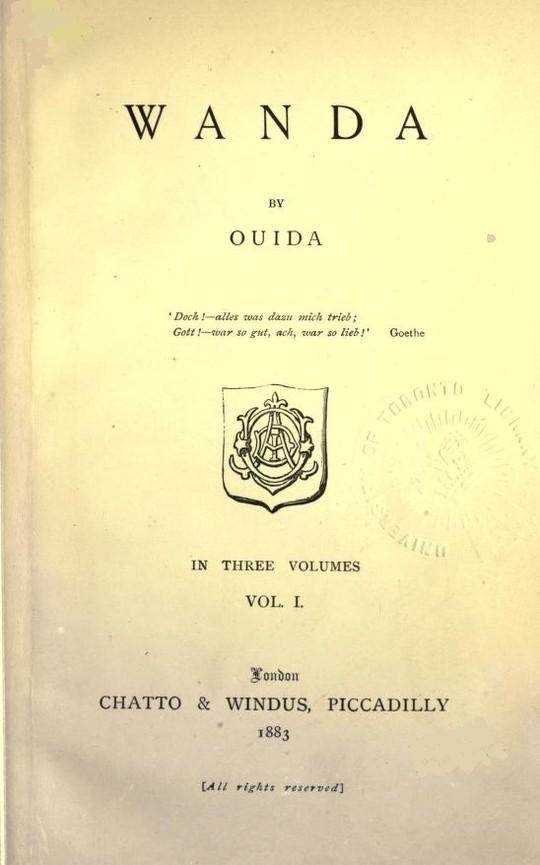 Wanda, Vol. 1 (of 3)