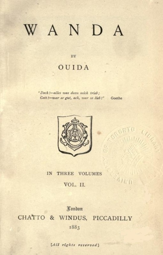 Wanda, Vol. 2 (of 3)