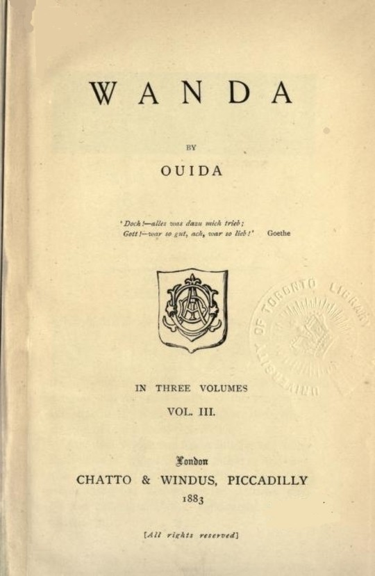 Wanda, Vol. 3 (of 3)