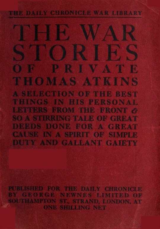 The War Stories of Private Thomas Atkins