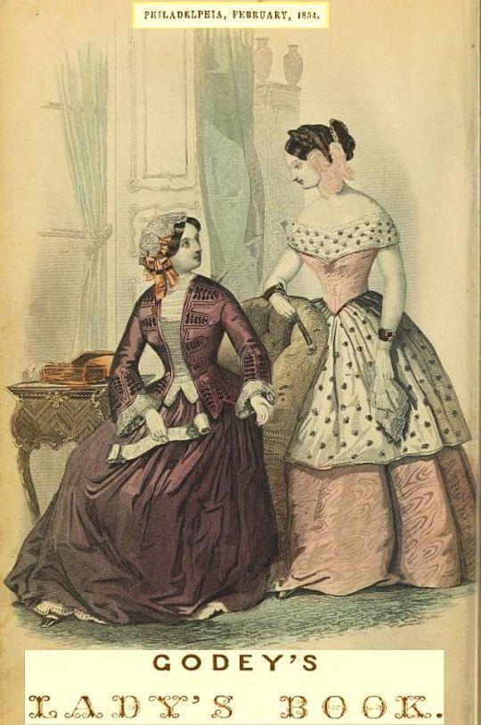 Godey's Lady's Book Philadelphia V 48, February, 1854
