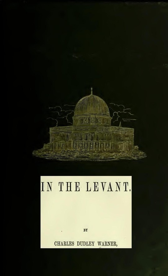 In The Levant Twenty Fifth Impression