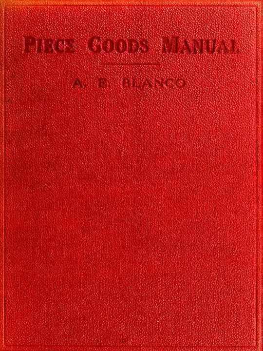 Piece Goods Manual