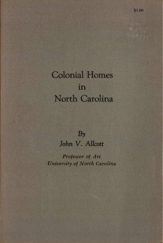 Colonial Homes in North Carolina