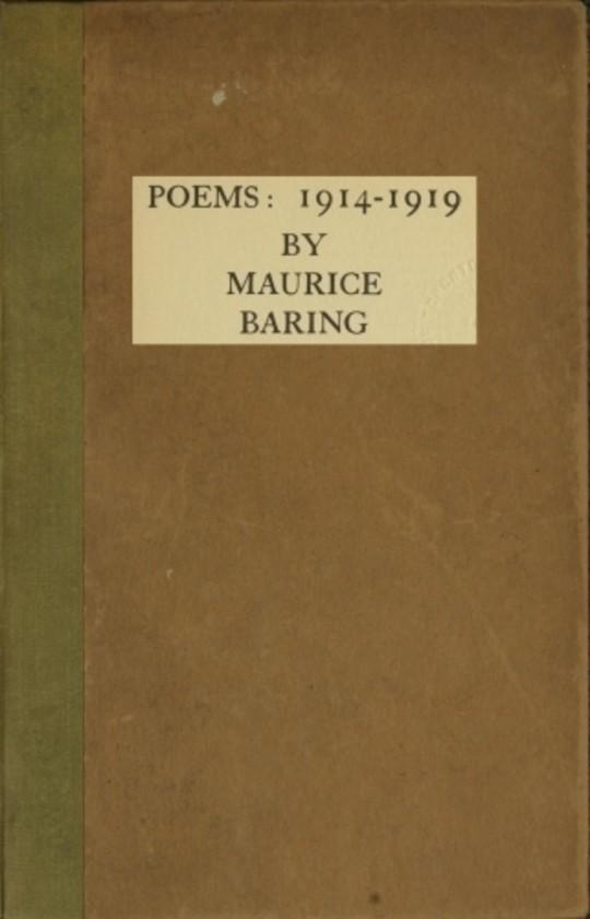 Poems, 1914-1919