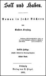 Soll und Haben, Bd. 1 (2) Roman in sechs Büchern