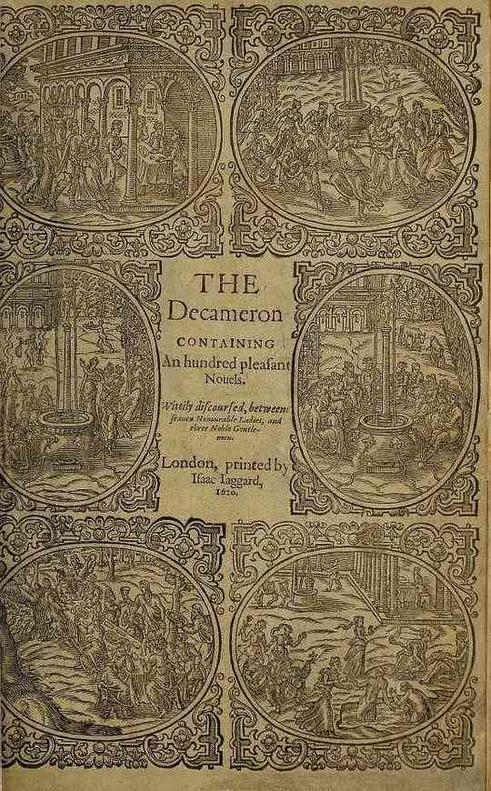 The Decameron (Day 6 to Day 10) Containing an hundred pleasant Novels