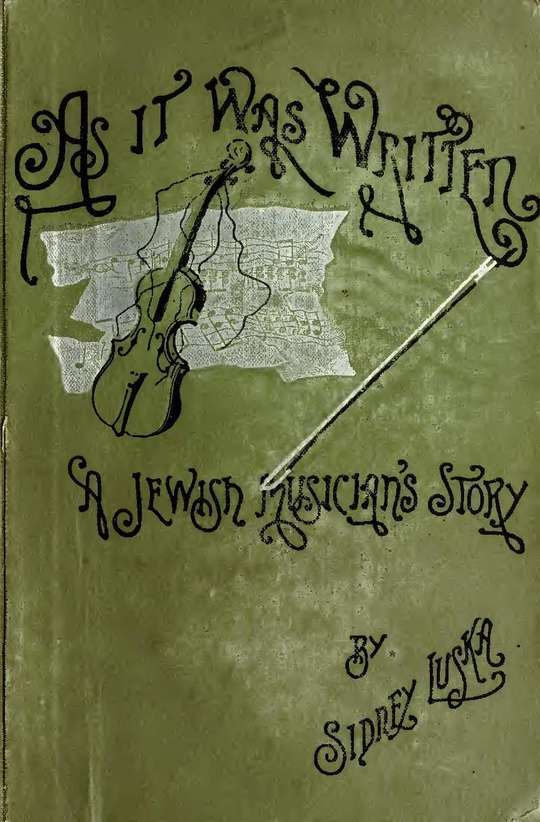 As It Was Written A Jewish Musician's Story