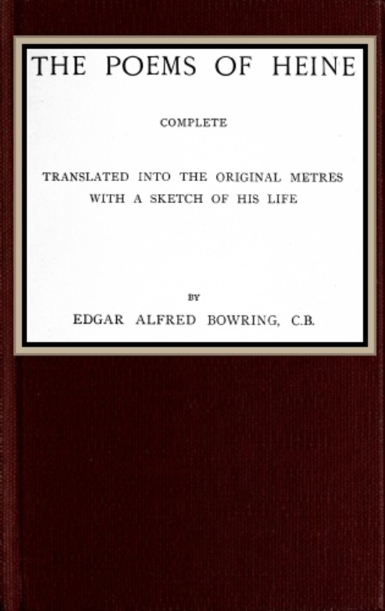 The poems of Heine; Complete