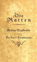 Die Ratten Berliner Tragikomödie