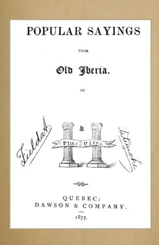 Popular Sayings from Old Iberia