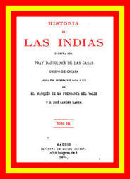 Historia de las Indias, Volume 3 (of 5)