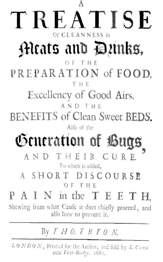 A Treatise of Cleanness in Meats and Drinks, of the Preparation of Food, the Excellency of Good Airs, and the Benefits of Clean