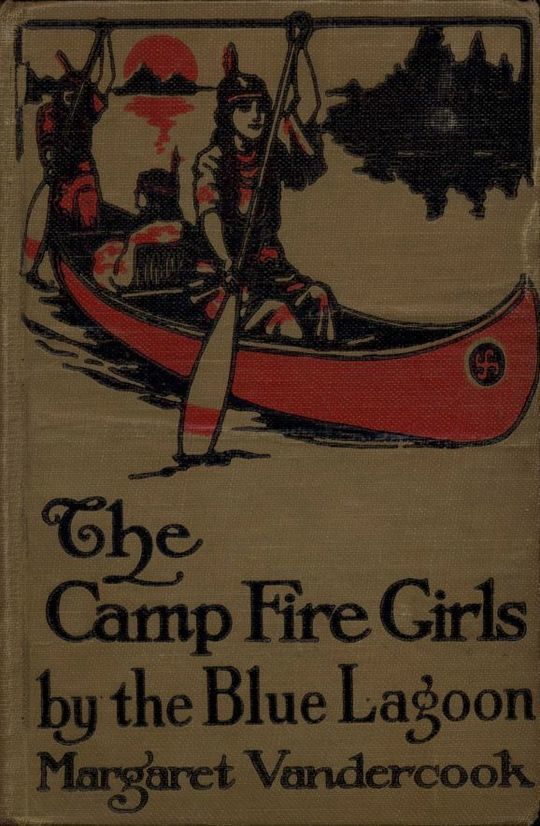 The Camp Fire Girls by the Blue Lagoon