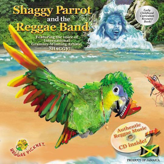 Shaggy Parrot and the Reggae Band(Interactive)