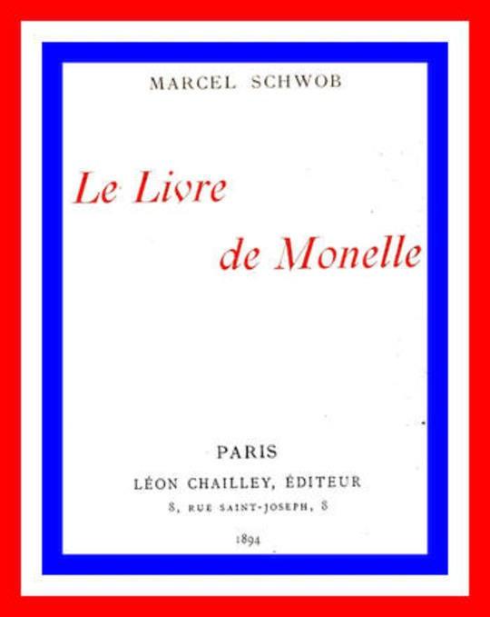 Le livre de Monelle