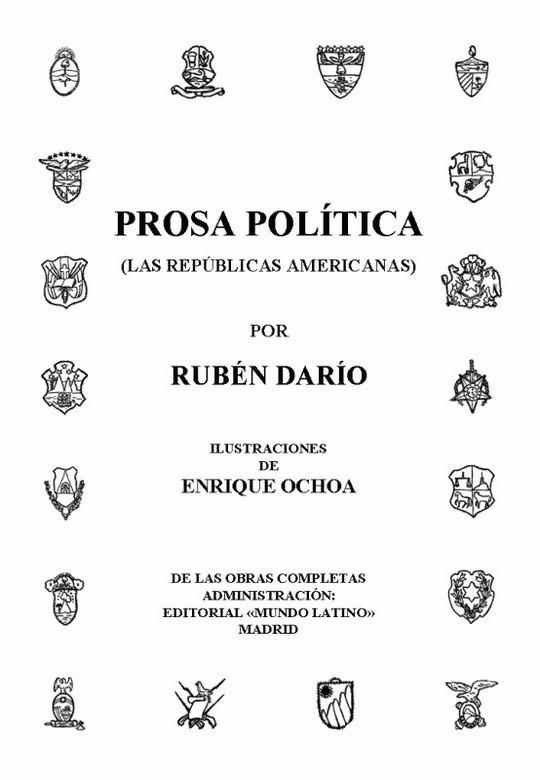 Prosa Política (Las Repúblicas Americanas) Obras Completas Vol. XIII
