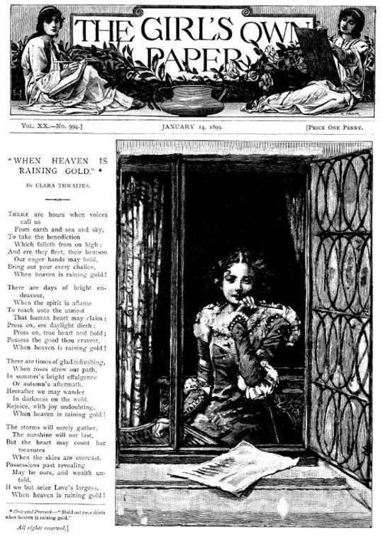 The Girl's Own Paper, Vol. XX, No. 994, January 14, 1899