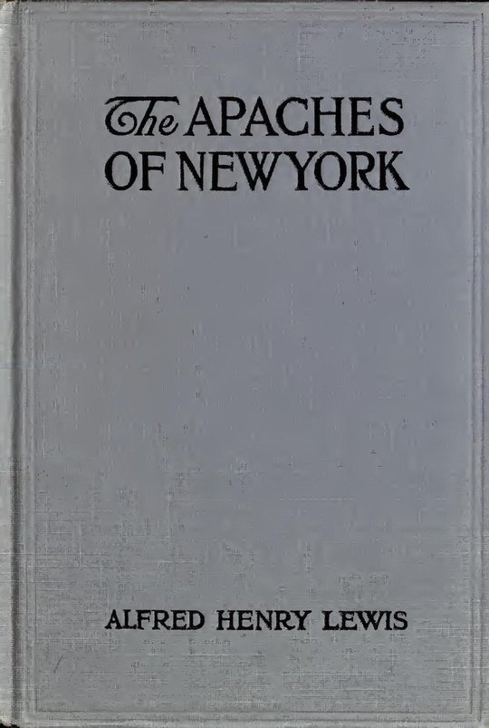 The Apaches of New York