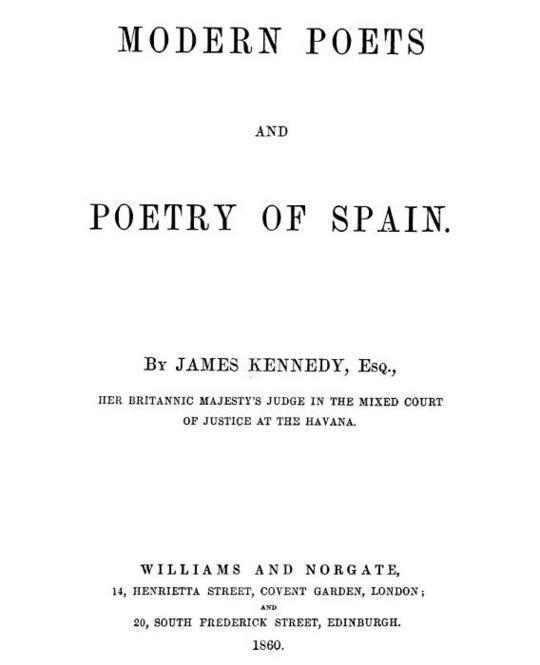Modern Poets and Poetry of Spain