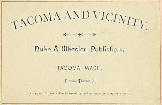 Tacoma and Vicinity