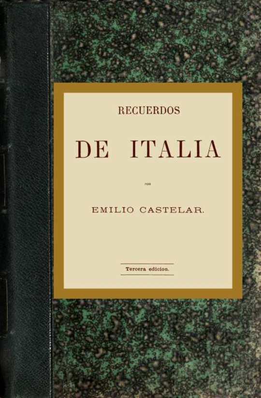 Recuerdos de Italia (parte 1 de 2)
