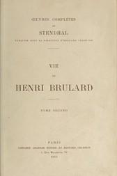 Vie de Henri Brulard, Tome 2 (of 2)