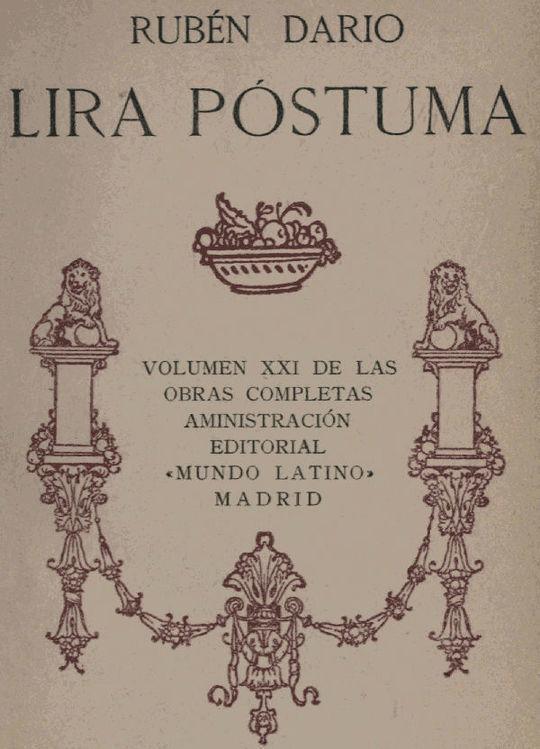 Lira Póstuma Obras Completas Vol. XXI