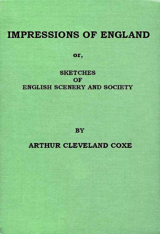 Impressions of England or Sketches of English Scenery and Society