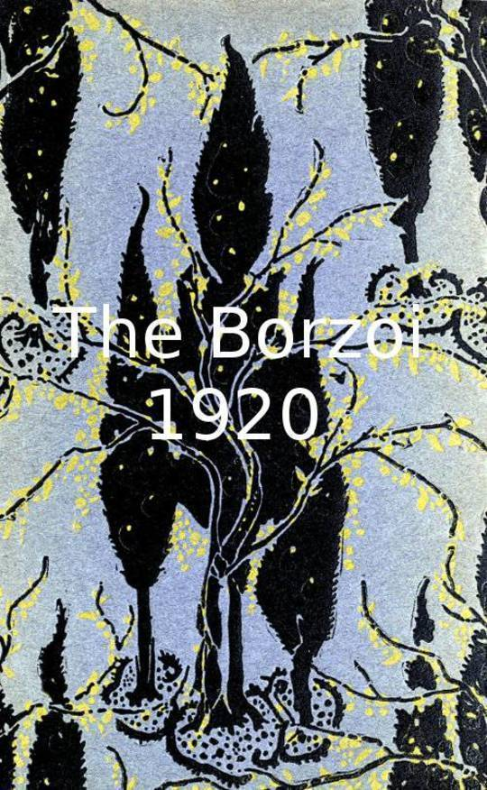 The Borzoi 1920 Being a sort of record of five years' publishing