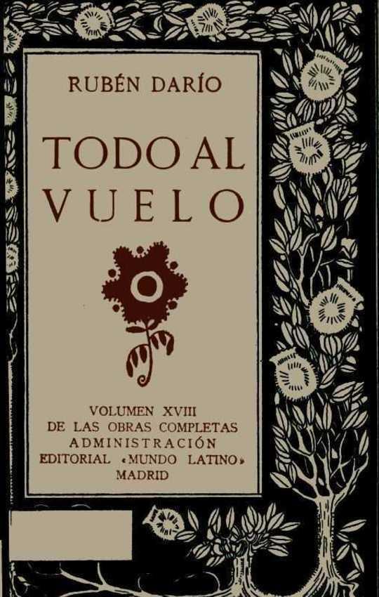 Todo al Vuelo Obras Completas Vol. XVIII