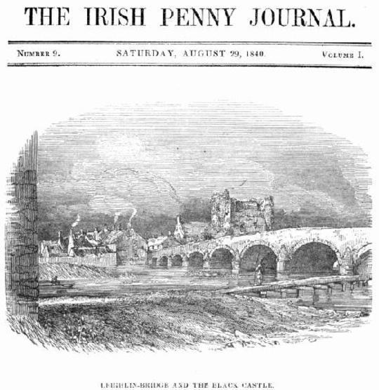 The Irish Penny Journal, Vol. 1 No. 9, August 29, 1840