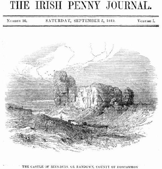 The Irish Penny Journal, Vol . 1 No. 10, September 5, 1840