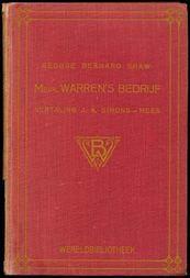 Mevr. Warren's Bedrijf