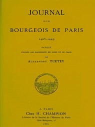 Journal d'un bourgeois de Paris, 1405-1449