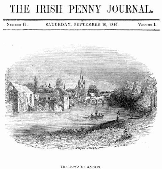 The Irish Penny Journal, Vol. 1 No. 12, September 19, 1840
