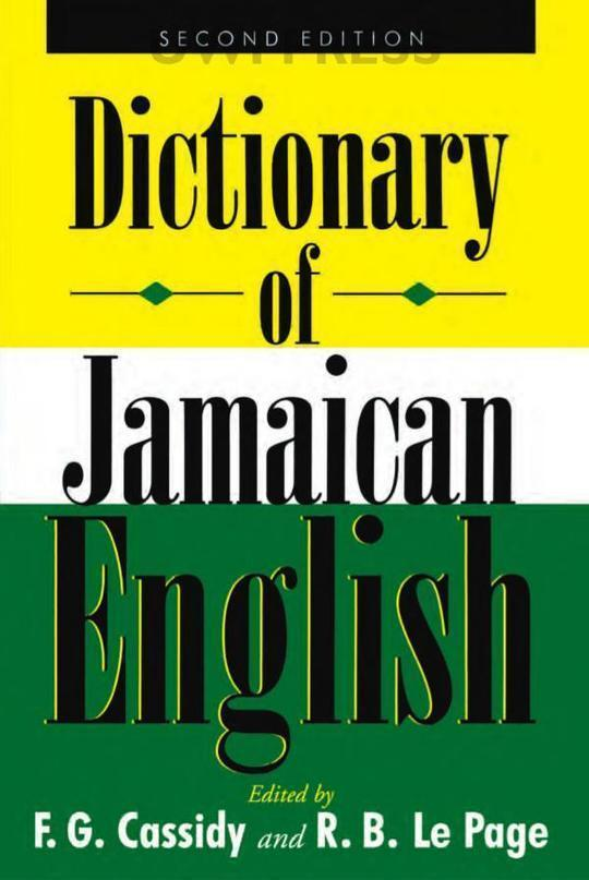 Dictionary of Jamaican English