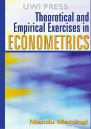Theoretical and Empirical Exercises in Econometrics