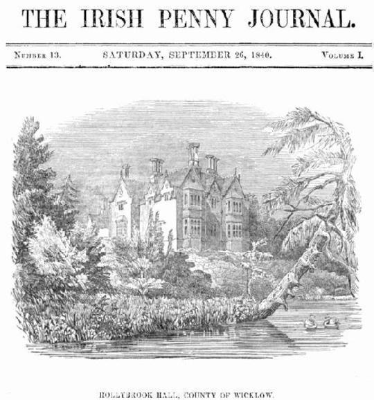 The Irish Penny Journal, Vol. 1 No. 13, September 26, 1840