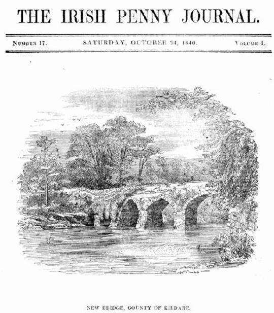The Irish Penny Journal, Vol. 1, No. 17, October 24, 1840