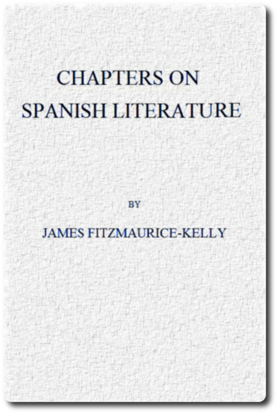 Chapters on Spanish Literature