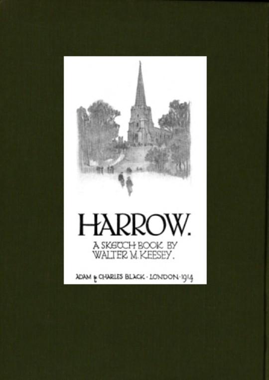 Harrow; A Sketch-Book