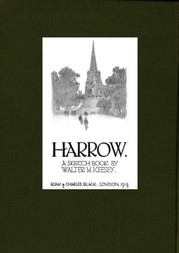 Harrow; A Sketch-Book