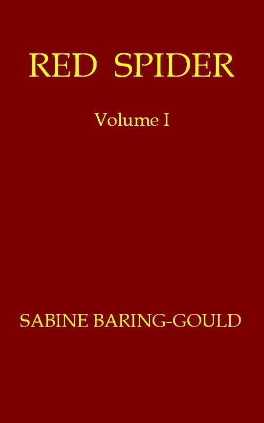 Red Spider, Volume 1 (of 2)