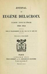 Journal de Eugène Delacroix, Volume 2