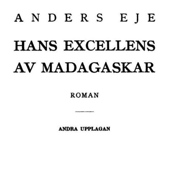 Hans excellens av Madagaskar