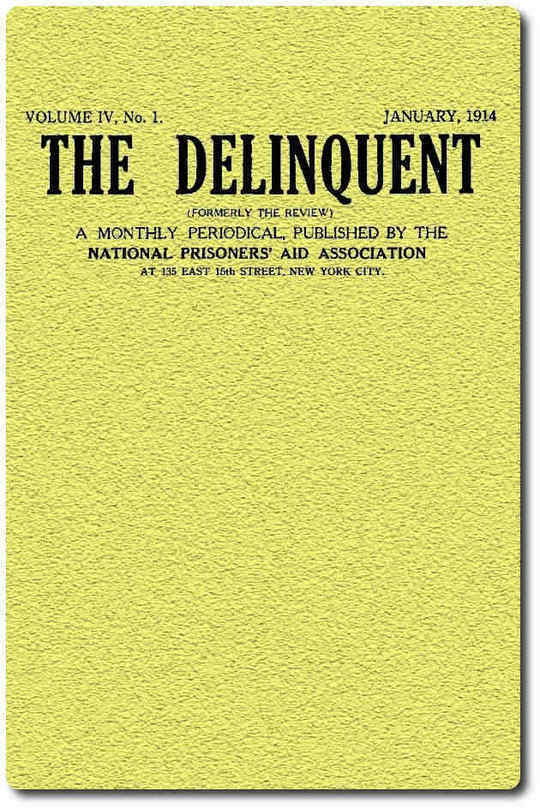 The Delinquent (Vol. IV, No. I), January, 1914
