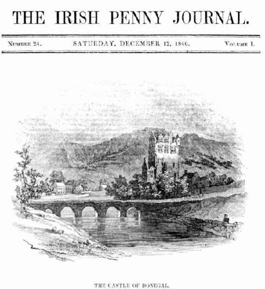 The Irish Penny Journal, Vol. 1 No. 24, December 12, 1840